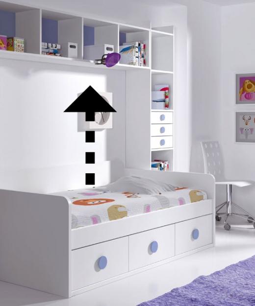 Estantes y m dulos de colgar low muebles mi hogar - Estanterias infantiles online ...