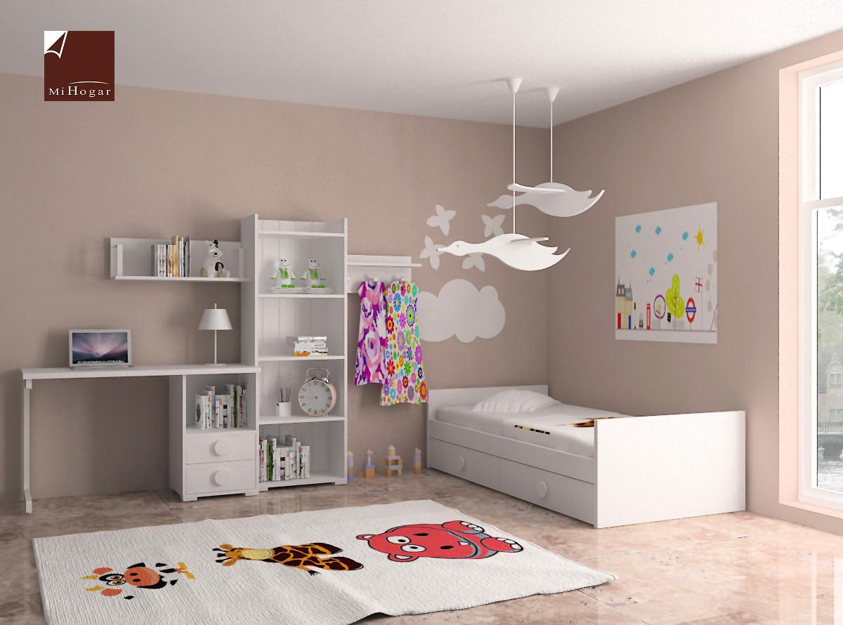 Dormitorio infantil 6 mvs muebles mi hogar - Mesas para dormitorio ...