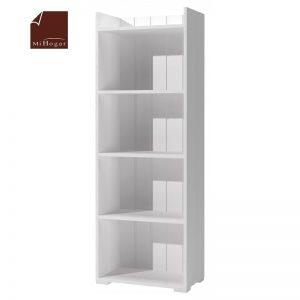 estanteria libreria blanca dormitorio infantil mvs