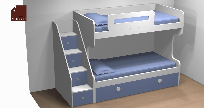 Literas nido 3 camas finest literas flexa nuevas literas - Litera con cama nido ...