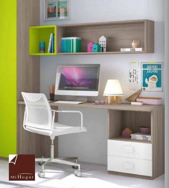 Estantes y m dulos de colgar low muebles mi hogar - Dormitorio juvenil doble ...