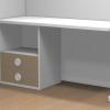mesa estudio 2 cajones dormitorio infantil malaca