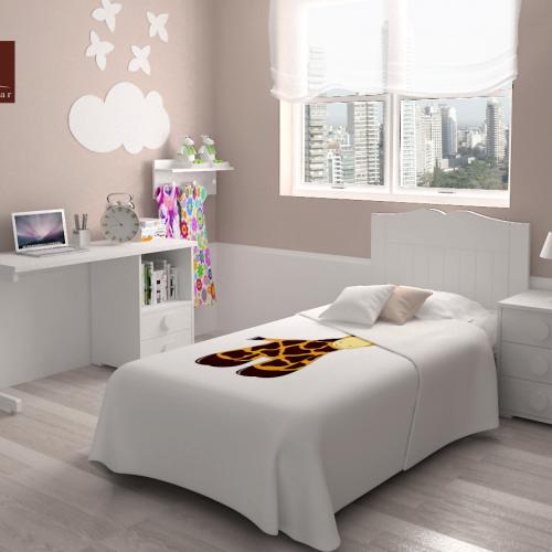 mesa estudio cama cabecero mesita dormitorio infantil mvs