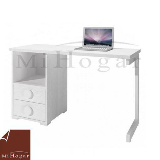 mesa estudio - escritorio blanco dormitorio infantil mvs