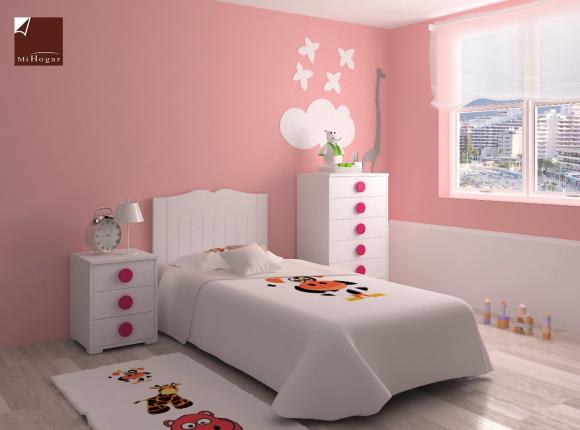Dormitorio infantil 1 mvs muebles mi hogar - Sinfonier infantil ...