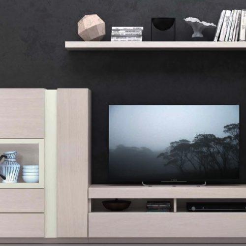 salón - comedor mueble televisión estantería
