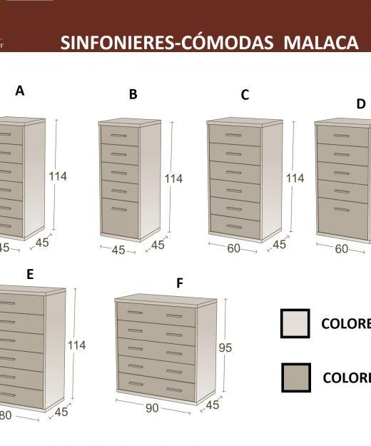 Dormitorios infantiles malaca categor as de productos - Sinfonier infantil ...