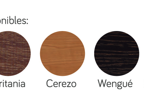 colores canape madera p