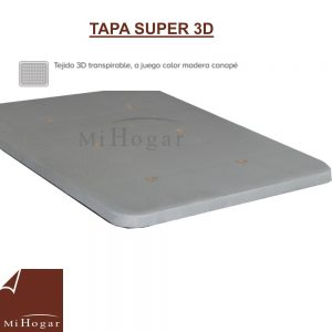 tapa super 3d canape abatible valladolid