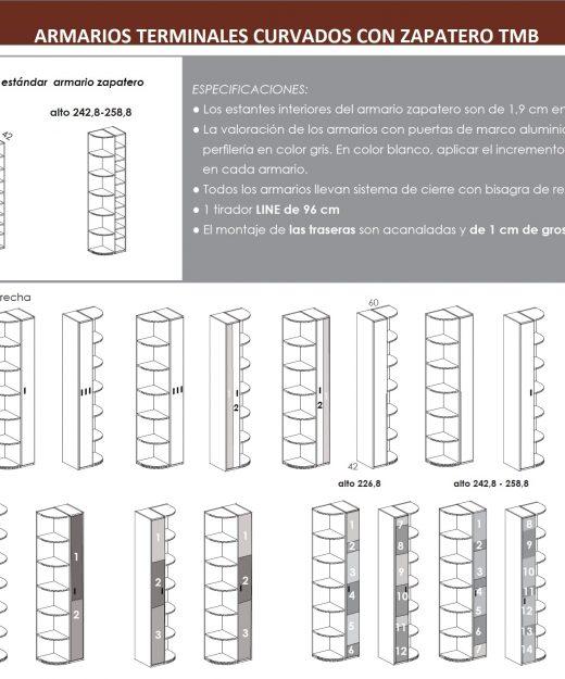 Cama abatible horizontal superior con nido abajo mesa o for Zapatero horizontal