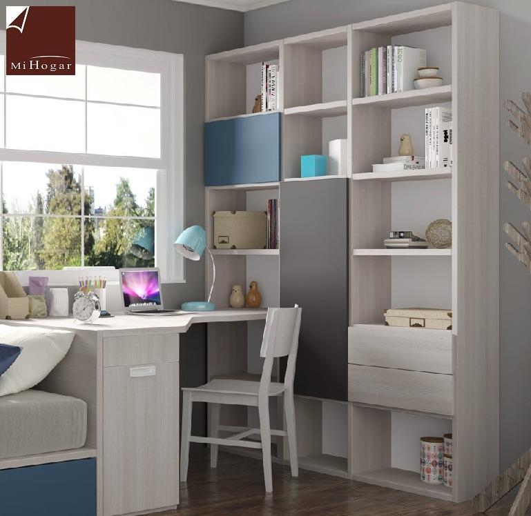 Estanter as a medida homelike muebles mi hogar for Dormitorios juveniles a medida