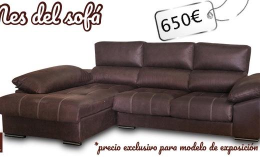 chaise longe oferta marrón mes del sofá valladolid