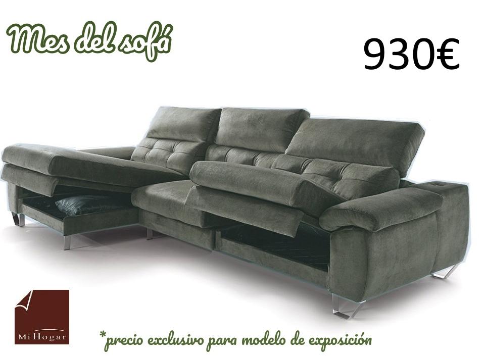 c5eaf400b52 Oferta. chaise longue deslizante arcón mes del sofa valladolid