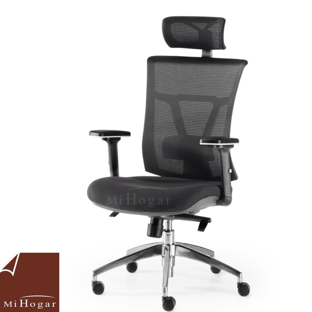 silla oficina ergonomic lumbar reposacabezas
