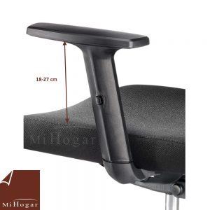 silla oficina lumbar reposacabezas desk brazo elevable