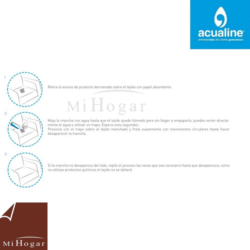 manual de limpieza de telas acualine
