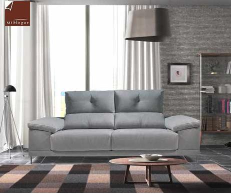 sofa tres plazas valladolid deslizante brazo recto arcon