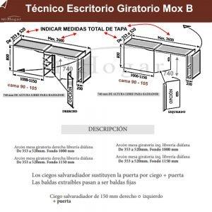 tecnico-escritorio-giratorio-mox-b