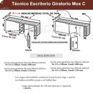 tecnico-escritorio-giratorio-mox-c