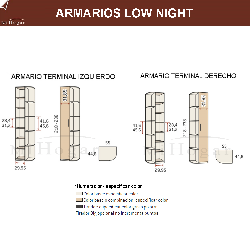 medidas armario terminal zapatero dormitorio low night